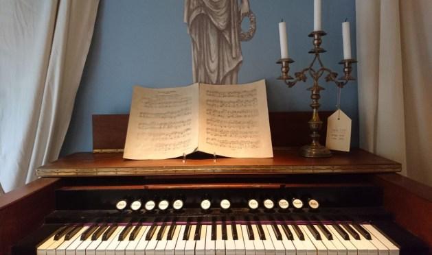 Buddenbrookhaus, sala da pranzo, harmonium