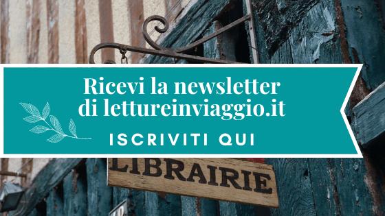 Banner iscrizione newsletter letture in viaggio