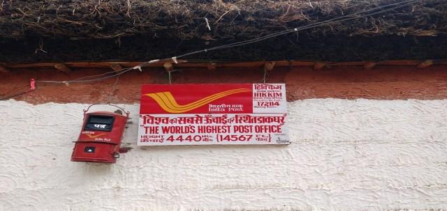Highest post office in world Hikkim village Spiti Valley