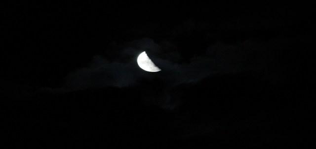 Moon night Chandratal spiti valley