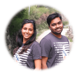 Letusgoto -  About Us - Isha and Kunal