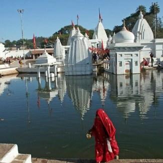 The hot water spring at Dhuni Pani, Madhya Pradesh.