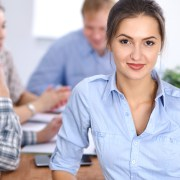 Young professional receiving best career success advice