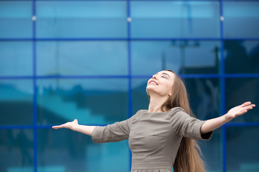 woman career success and happiness