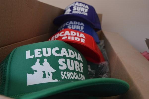 Leucadia Surf School trucker hats