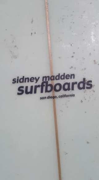 Sid's last known label.