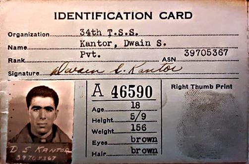 dwain kantor airforce id card2
