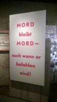 """Ausstellungsstück in der Dauerausstellung """"Teilung und Einheit. Diktatur und Widerstand"""" im Zeitgeschichtlichen Museum Leipzig, Foto: M. Lindner"""