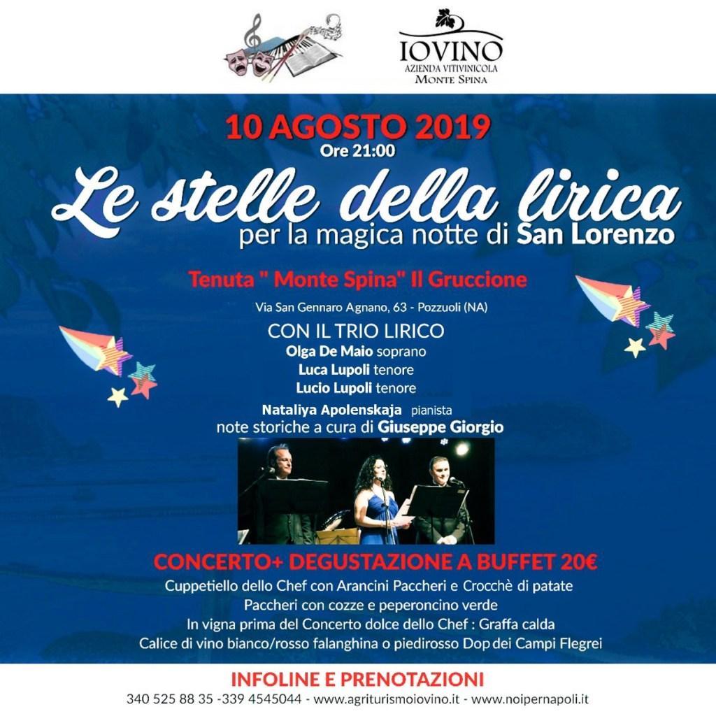 Notte Magica Verdi Note.Le Stelle Della Lirica Per San Lorenzo