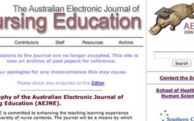 Australian Electronic Journal of Nursing Education (AEJNE)