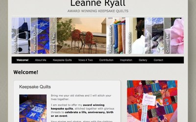 Keepsake Quilts by Leanne Ryall
