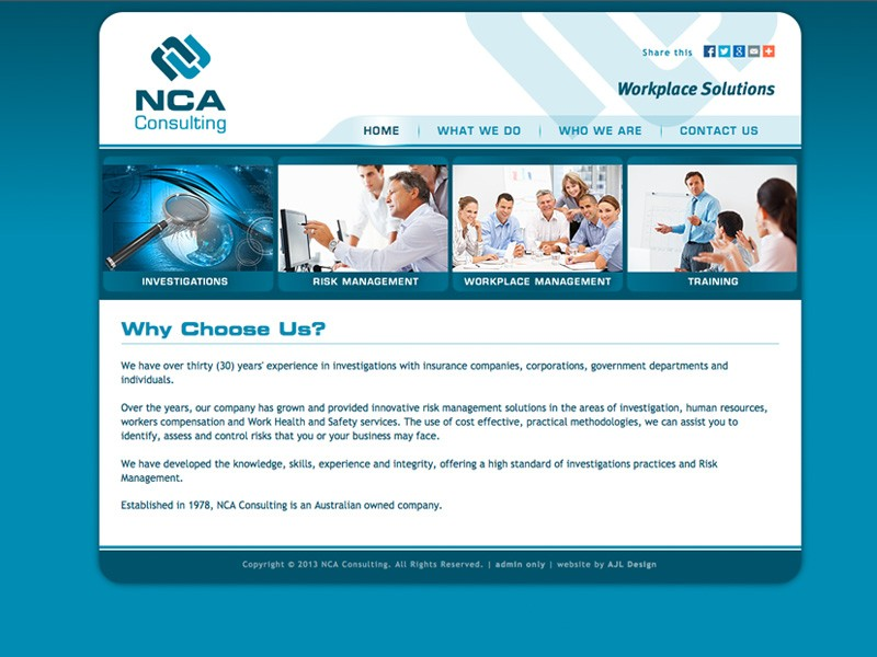 NCA Consulting (Joomla version)