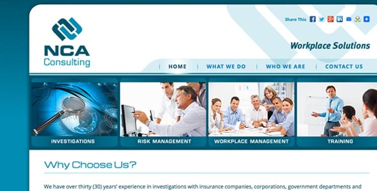 NCA Consulting: Site transfer – Joomla to WordPress