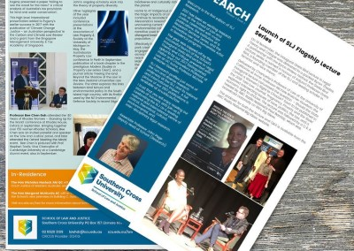 School of Law and Justice SLJ Research eNews