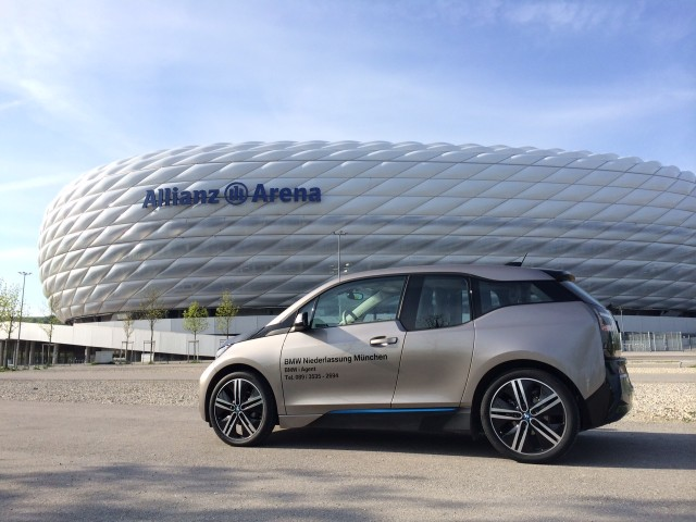bmw i3 am allianz arena