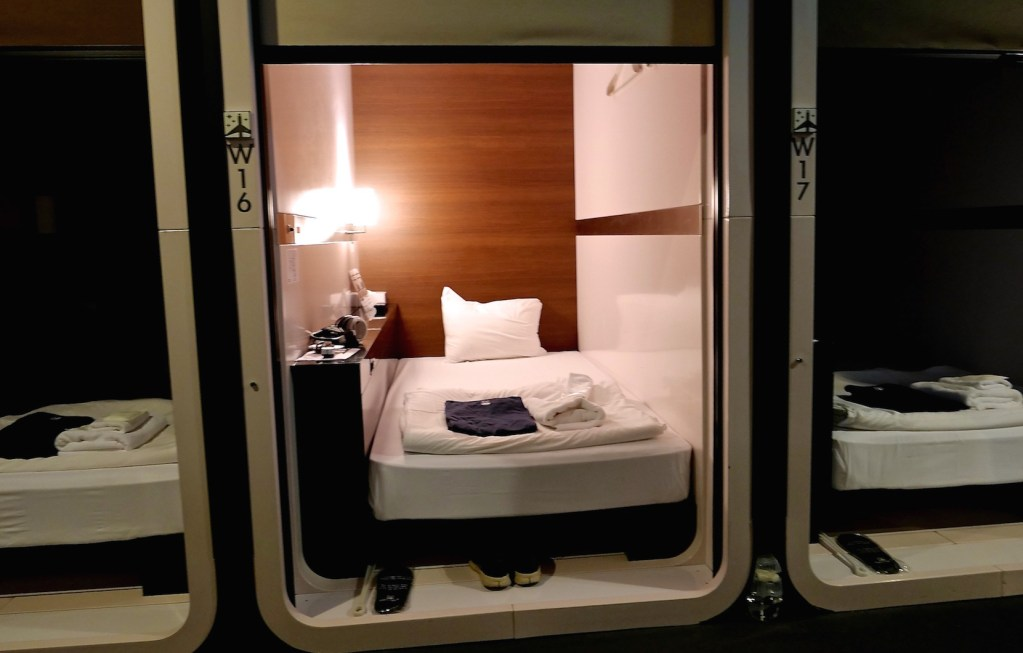 Review: Japan's Capsule Hotels