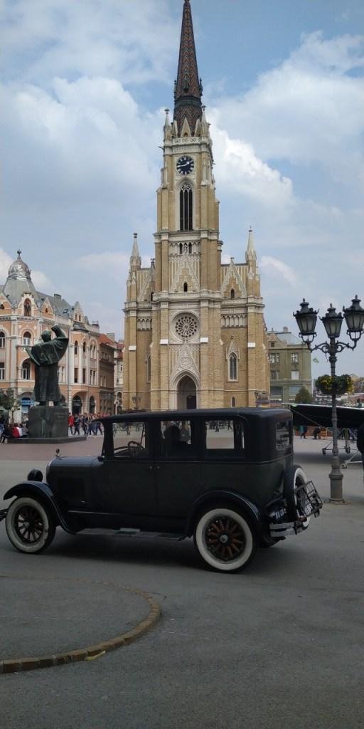 """Leutar.net Ж.М. uhvatio kako Novi Sad """"glumi"""" Beč u seriji """"Senke nad Balkanom"""""""