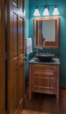 Craftsman bathroom design concept
