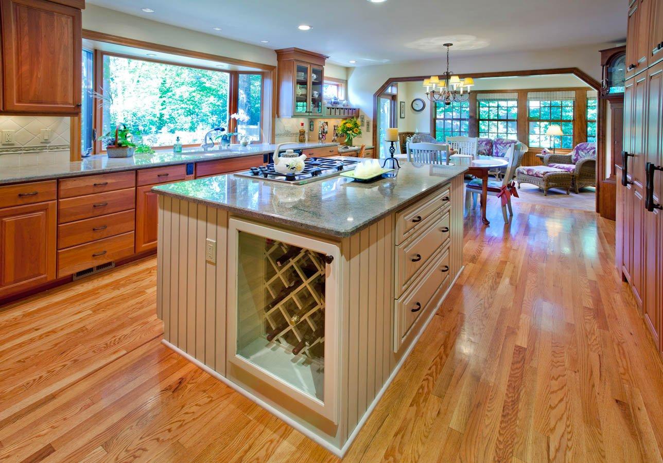 Transitional kitchen concept