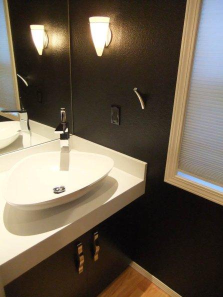 vanity remodel