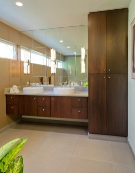 Master bathroom renovation in Portland