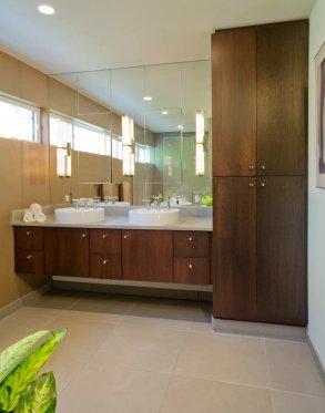 Master bathroom renovation in Portland