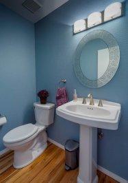 Craftsman-Traditional guest bathroom concept