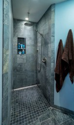 Craftsman-Traditional shower remodel