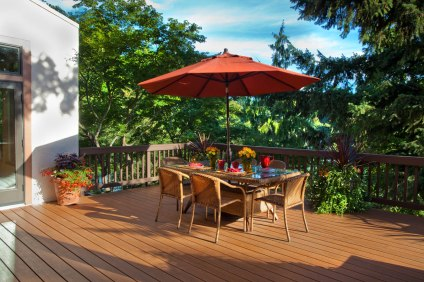 Italian-Traditional deck remodel project
