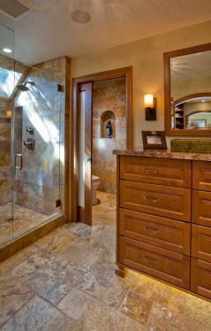 Enhanced-Italian-Traditional bathroom idea