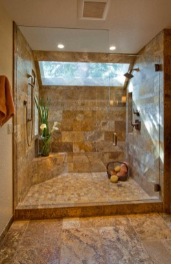 Enhanced-Italian-Traditional extra large shower installation