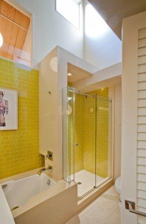 Retro shower install