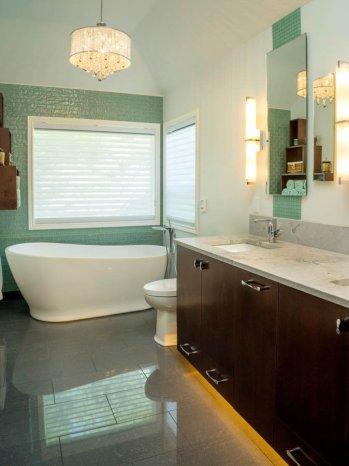 Modern-Transitional bathroom remodel