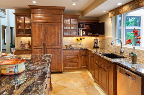 Contemporary-Asian-Flair designed kitchen