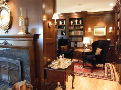 A traditional interior design concept