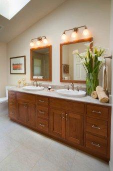 Classic-Italianate double vanity