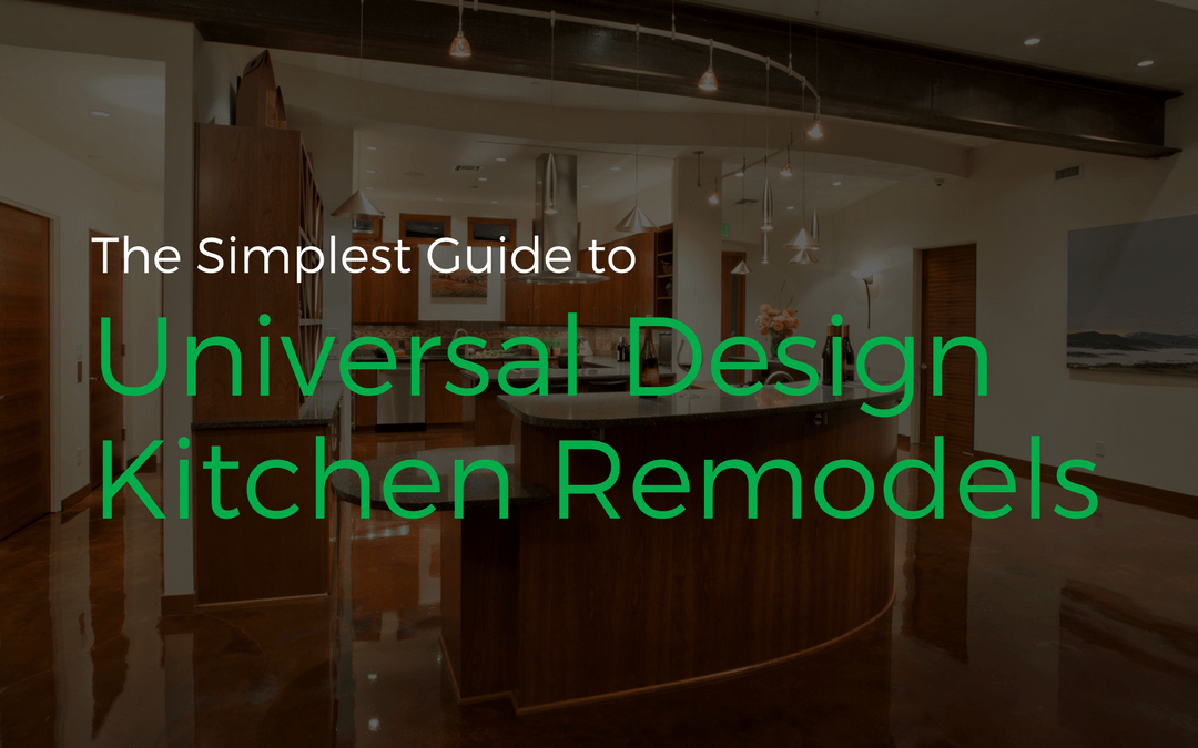 Cover Image For Our Blog Post Universal Design Kitchen Remodels.