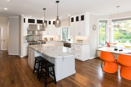 Hartung Farm White Kitchen remodel