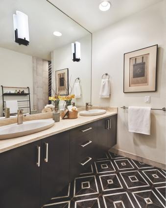 master bath design by L Evans