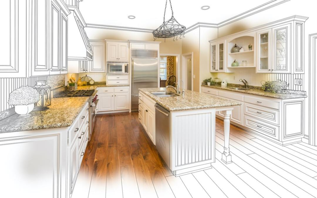 virtual kitchen remodel process