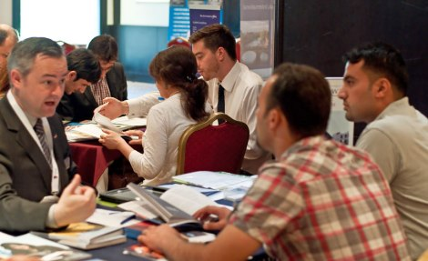 """""""The event provided an excellent opportunity to network effectively with Ministerial and institutional staff, to meet and understand more fully the needs of some ambitious and talented students"""".Jeremy Burgess, Warwick University (Kurdistan, October 2012)."""