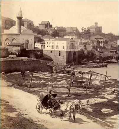 Beirut - Ein El Mreisseh in 1890