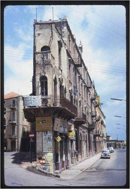 Corner of Allenby 1965