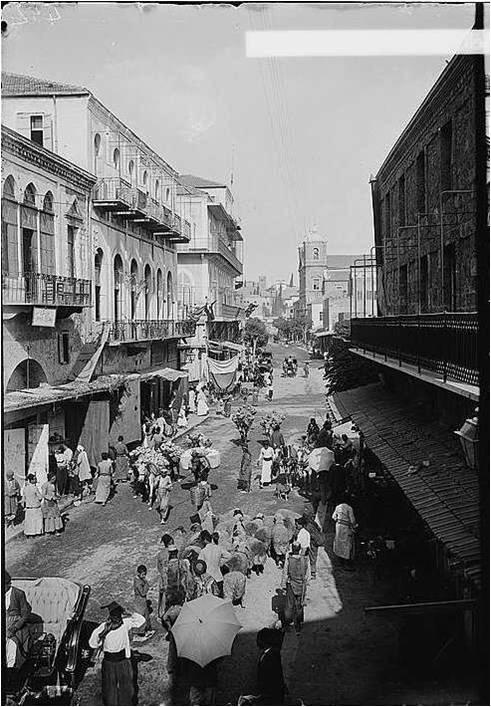 Gemmayzeh near Sahat Al Bourj circa 1900