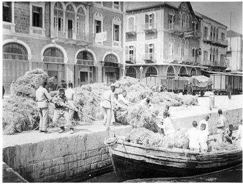 Port of Beirut 1909