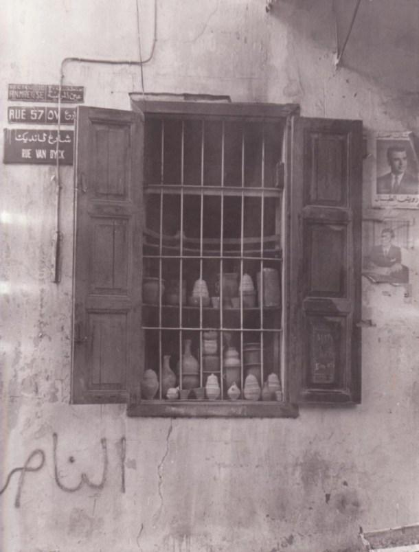 Old Beirut window - original scan