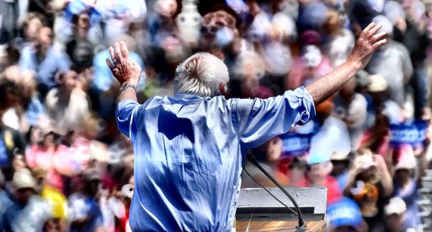 The passion of Bernie Sanders