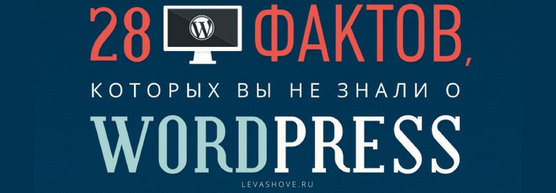 Инфографика: 28 фактов о WordPress