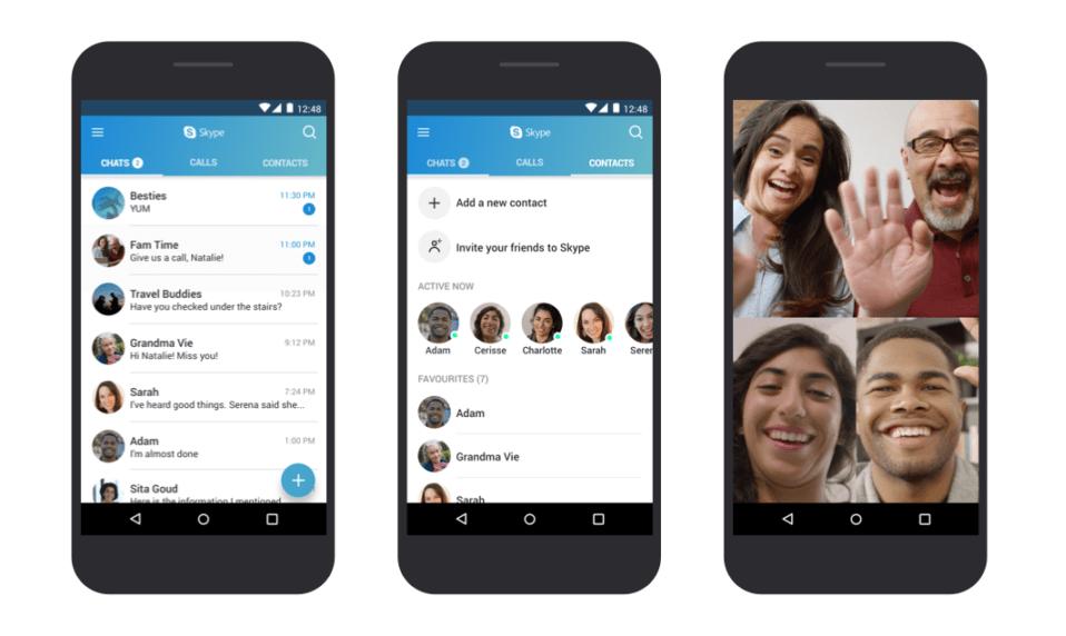 Как установить Skype на Android 4.0.3 – 5.0