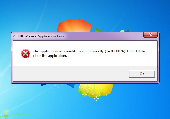 Как исправить ошибку «The Application was Unable to Start Correctly (0xc000007b)» в Windows 10